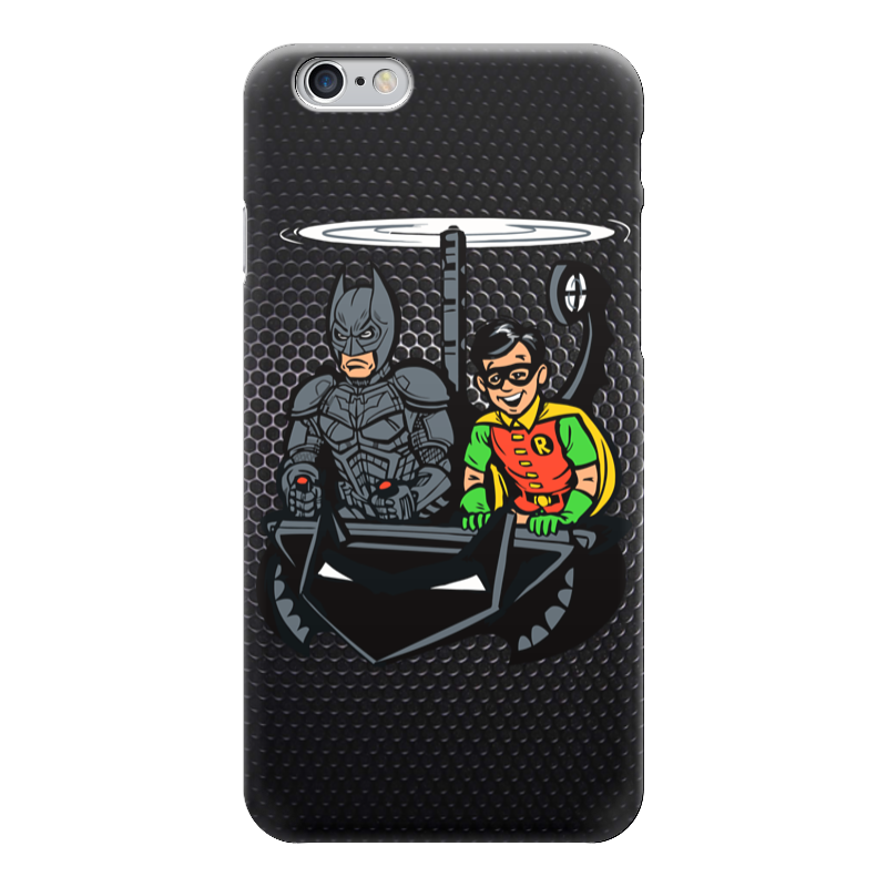 Чехол для iPhone 6 глянцевый Printio Batman x robin лонгслив printio ice king x batman
