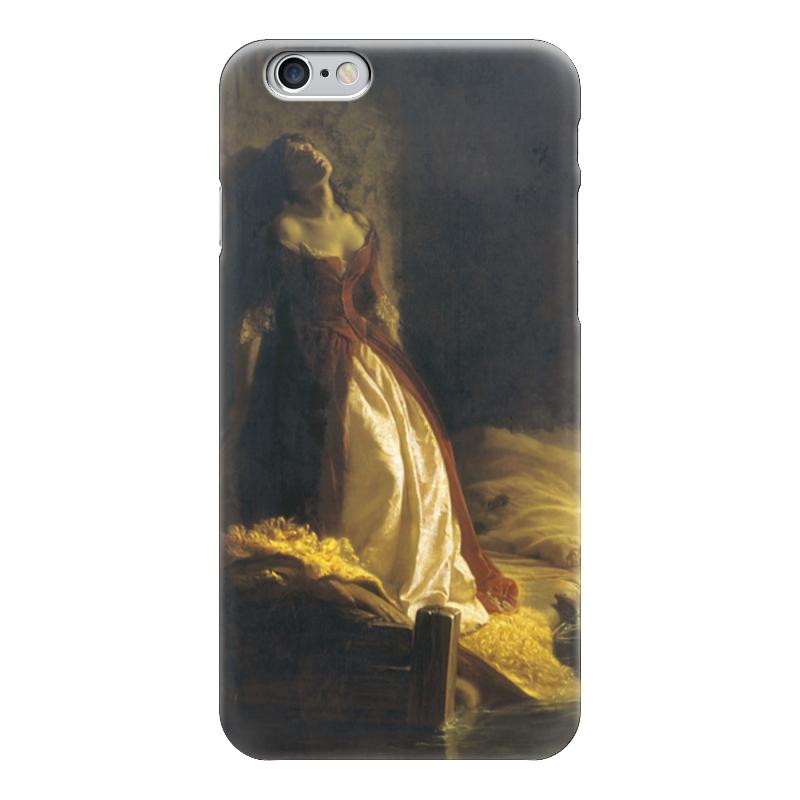 Чехол для iPhone 6 глянцевый Printio Княжна тараканова (картина флавицкого) купить борское лобовое стекло для рено логан в санкт петербурге