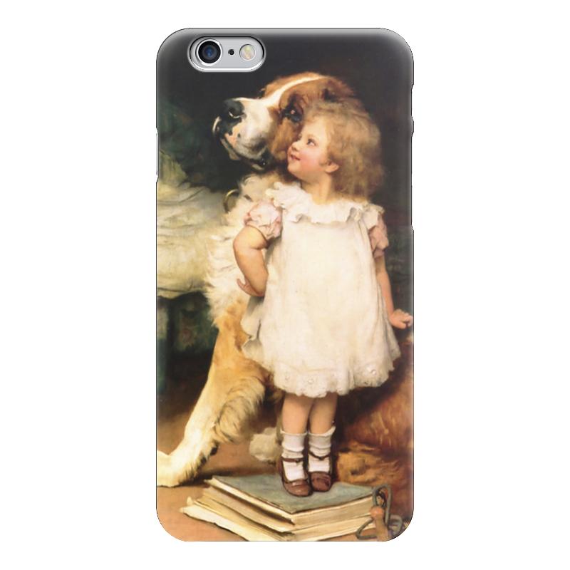 Чехол для iPhone 6 глянцевый Printio Картина артура элсли (1860-1952) картины magic home картина репродукция дворик
