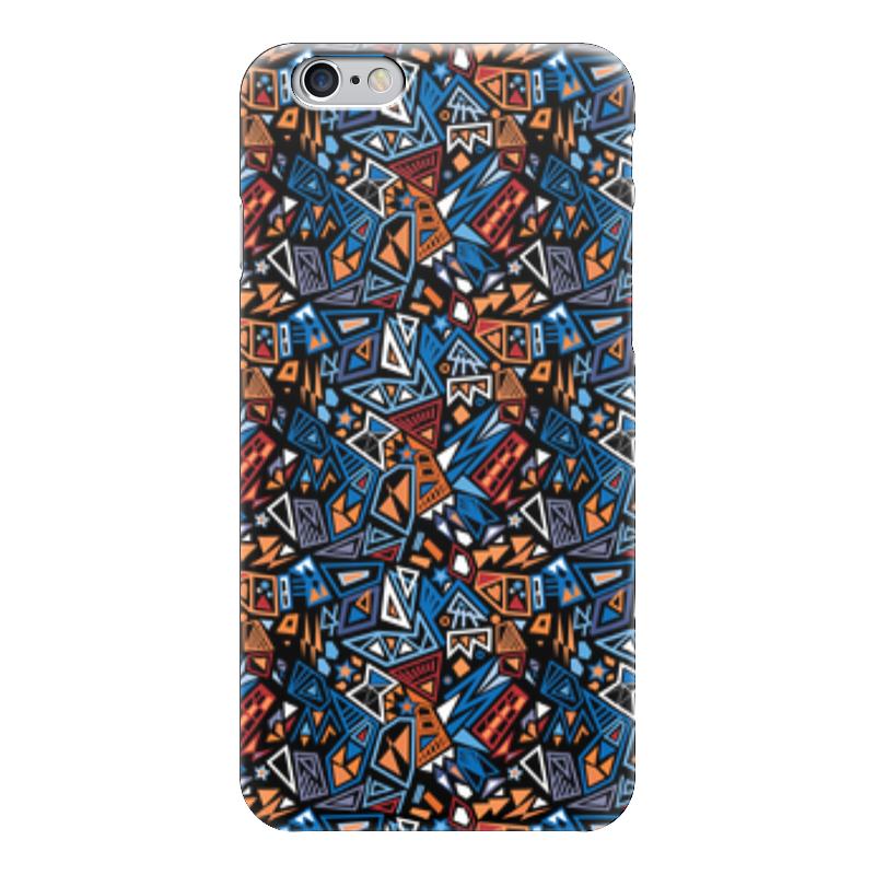 Чехол для iPhone 6 глянцевый Printio Модный и стильный геометрический паттерн платье летнее printio модный и стильный геометрический паттерн