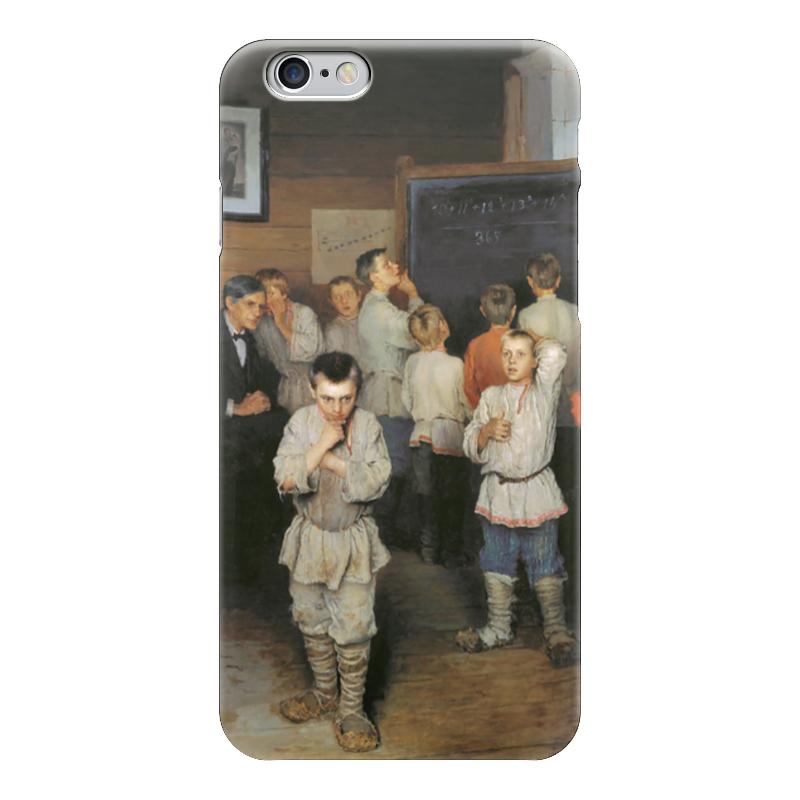 Чехол для iPhone 6 глянцевый Printio Устный счёт. (богданов-бельский) семь смертных грехов 12 литографий н а богданова