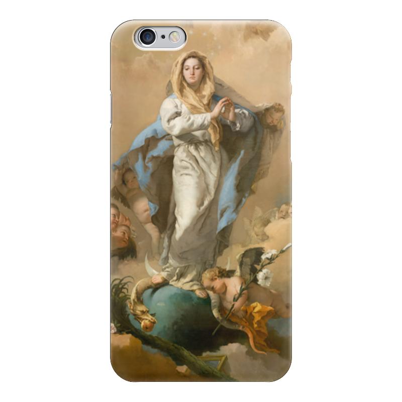Чехол для iPhone 6 глянцевый Printio Непорочное зачатие девы марии магическая сила девы марии 44 карты инструкция