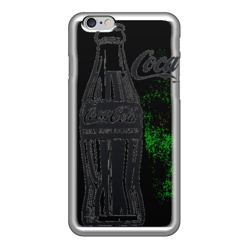 Чехол для iPhone 6 глянцевый Printio «кока-кола» (coca-cola) блок глюкоза конфеты кола 42г