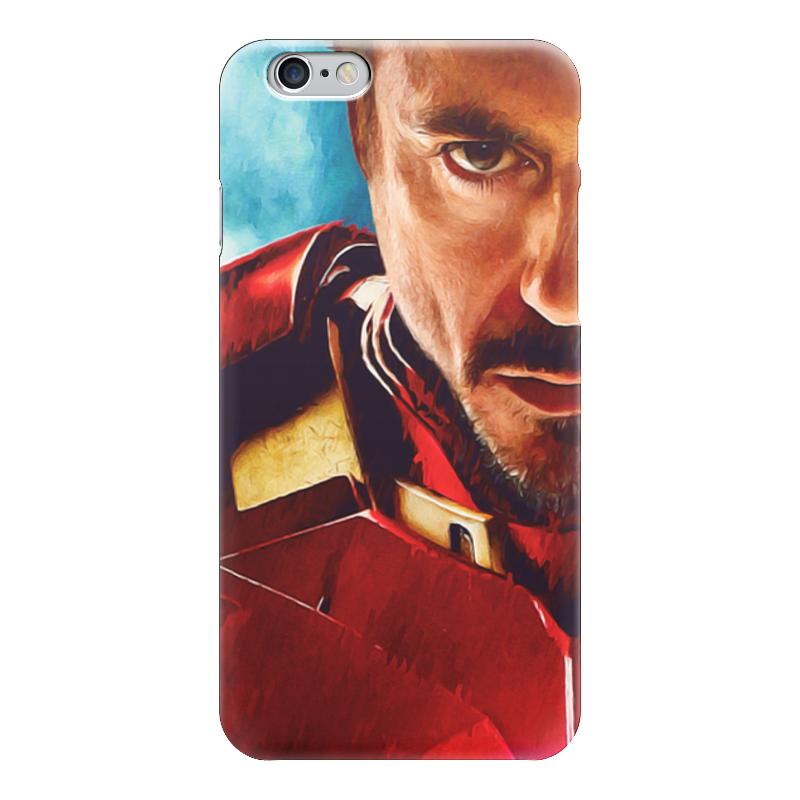 Чехол для iPhone 6 глянцевый Printio Iron man чехол для iphone 6 глянцевый printio iron maiden band