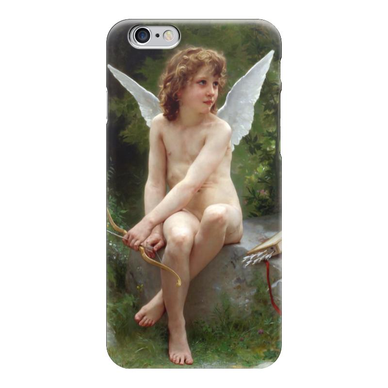 где купить Чехол для iPhone 6 глянцевый Printio Подстерегающая любовь (вильям бугро) дешево
