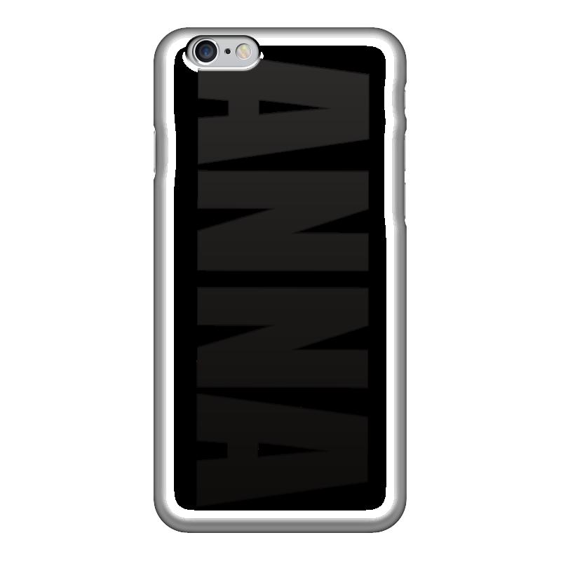 Чехол для iPhone 6 глянцевый Printio С именем анна чехол для iphone 5 printio с именем анна