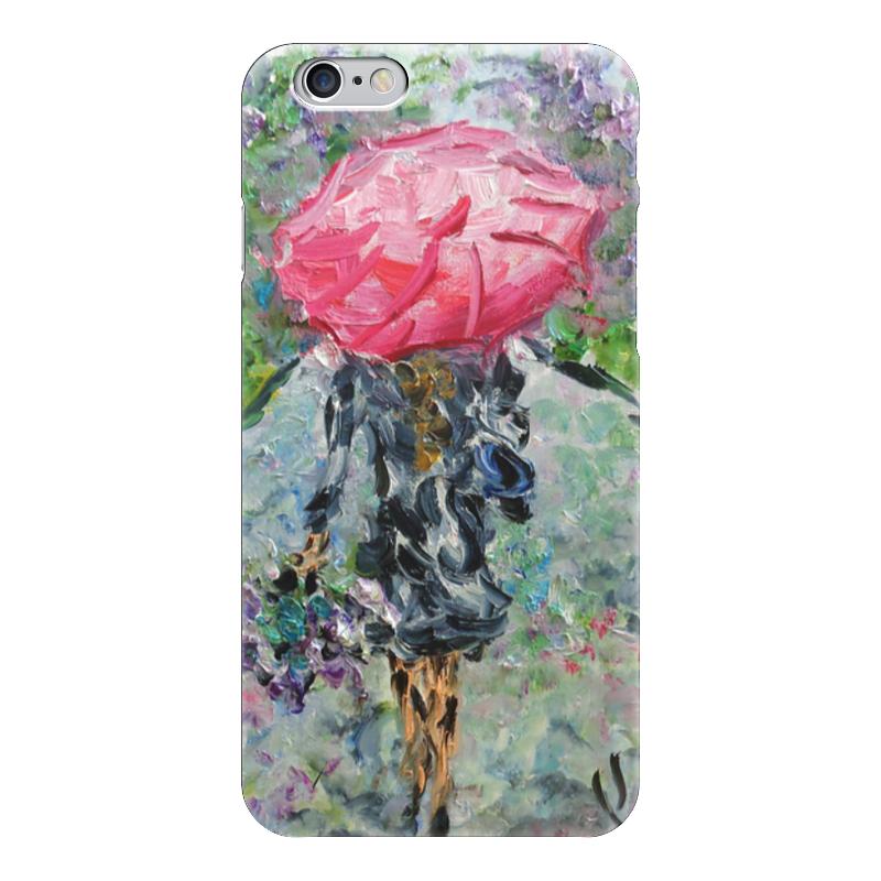 Чехол для iPhone 6 глянцевый Printio Запах дождя никита павлов картина новгород дождь