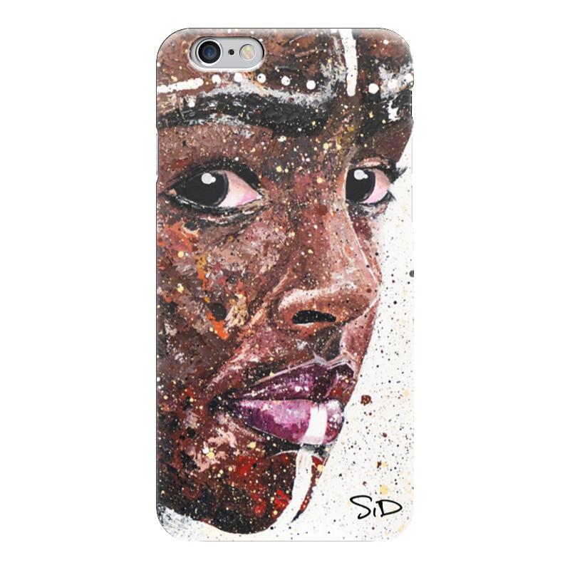 Чехол для iPhone 6 глянцевый Printio Эфиопка. серова м вся прелесть стриптиза