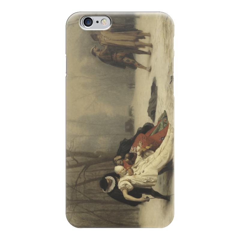 Чехол для iPhone 6 глянцевый Printio Дуэль после маскарада мактавиш д скандальная дуэль