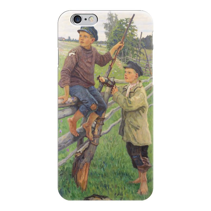 Чехол для iPhone 6 глянцевый Printio Страна мальчиков