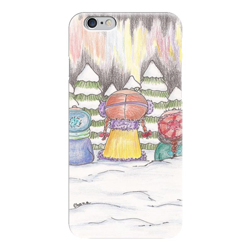 Чехол для iPhone 6 глянцевый Printio Северное сияние чехол