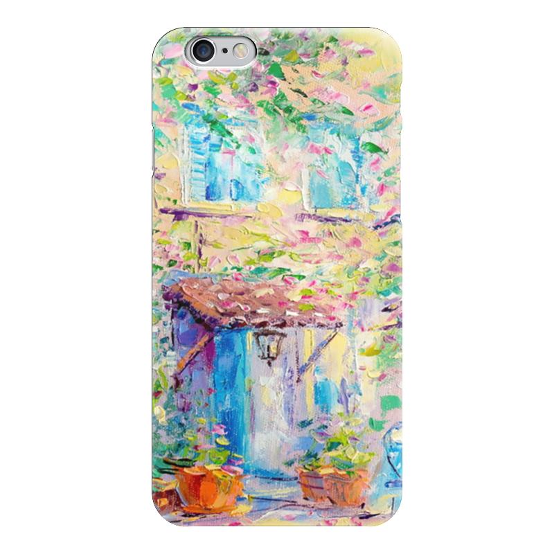 Чехол для iPhone 6 глянцевый Printio Прованс чехол для iphone 6 глянцевый printio сад на улице корто сад на монмартре ренуар