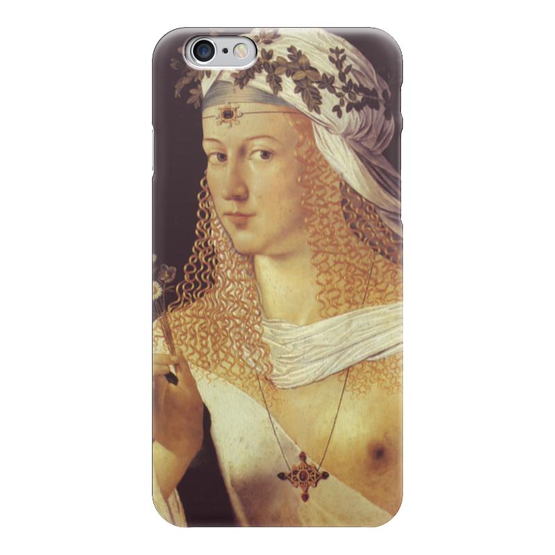 Чехол для iPhone 6 глянцевый Printio Флора (бартоломео венето) молодежная венето