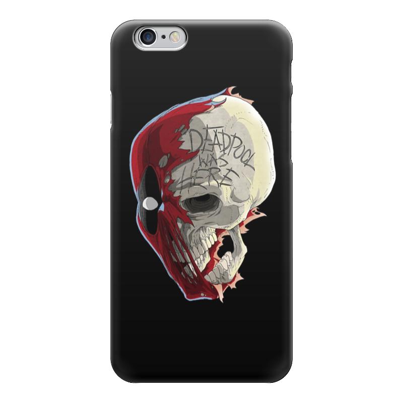 Чехол для iPhone 6 глянцевый Printio Deadpool чехол для iphone 6 глянцевый printio deadpool