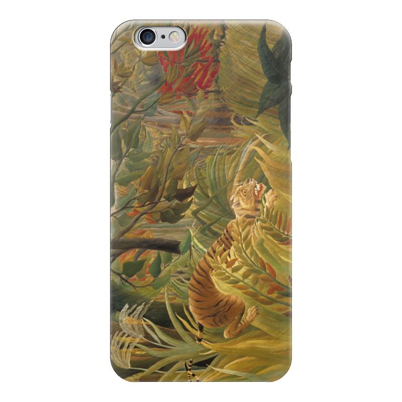 Чехол для iPhone 6 глянцевый Printio Нападение в джунглях контратака лучшая защита нападение