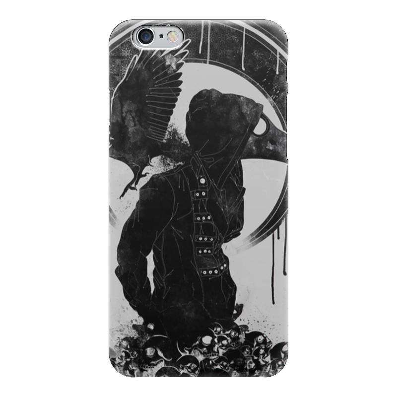 Чехол для iPhone 6 глянцевый Printio Чумной доктор цена