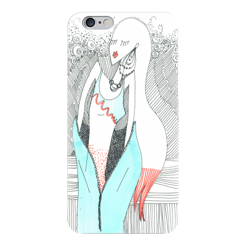Чехол для iPhone 6 глянцевый Printio Be yourself чехол для iphone 5 глянцевый с полной запечаткой printio may the force be with you