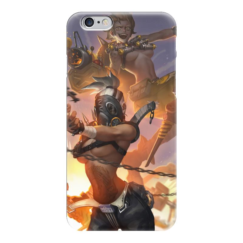 Чехол для iPhone 6 глянцевый Printio Overwatch