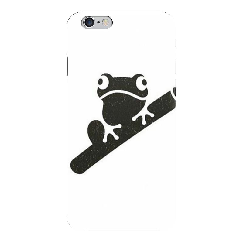 Чехол для iPhone 6 глянцевый Printio Лягушка