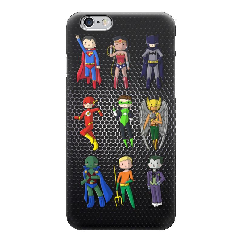 Чехол для iPhone 6 глянцевый Printio Супергерои комиксов чехол для iphone 7 глянцевый printio супергерои комиксов