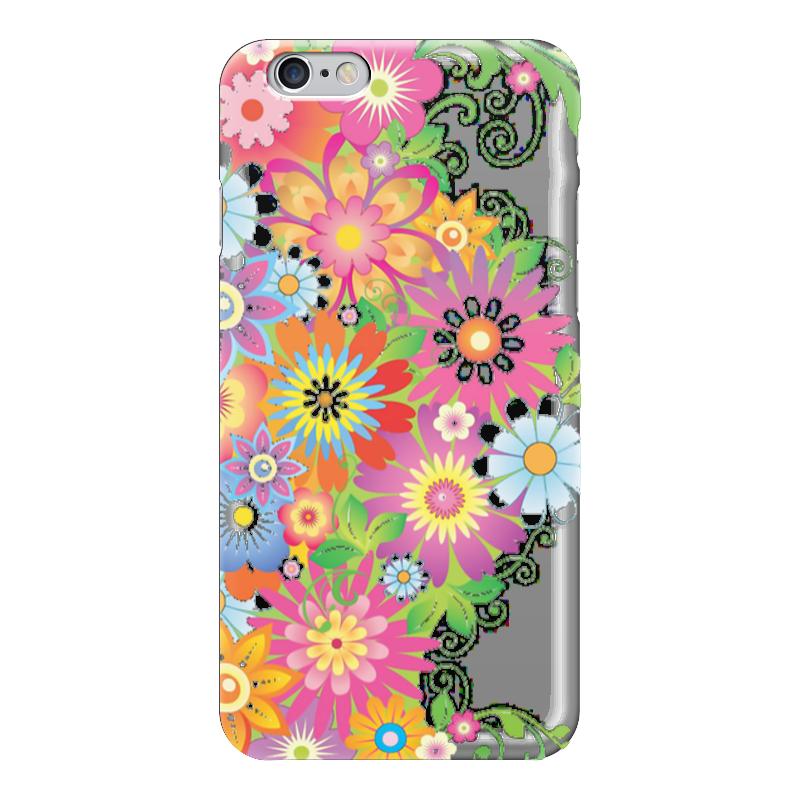 Чехол для iPhone 6 глянцевый Printio Цветы чехол для iphone 6 глянцевый printio цветочный