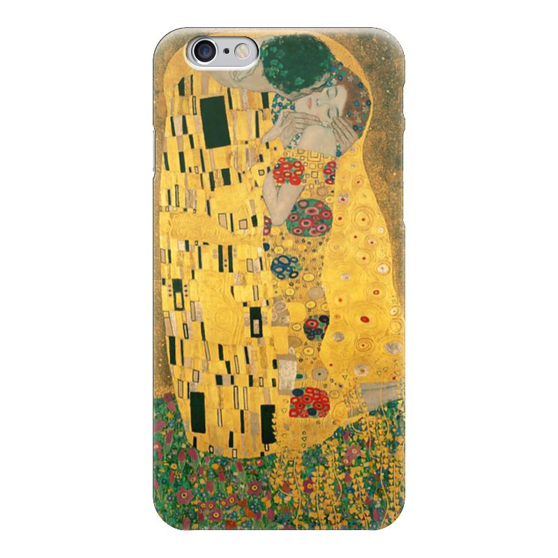 Чехол для iPhone 6 глянцевый Printio Поцелуй (картина густава климта) чехол для iphone 6 глянцевый printio дама в голубом картина сомова