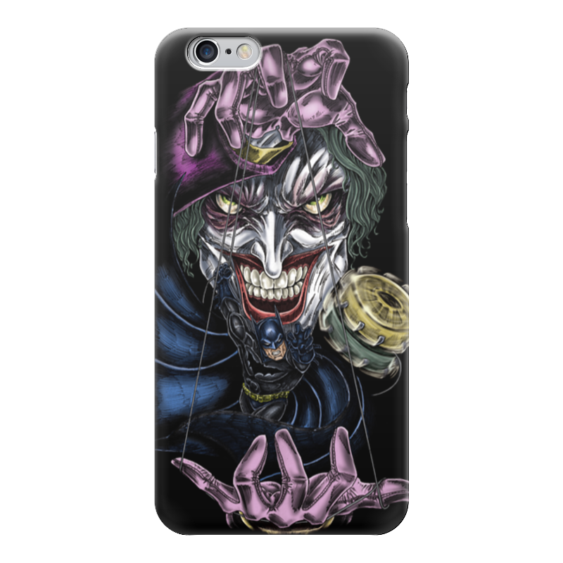 Чехол для iPhone 6 глянцевый Printio Joker & batman чехол для iphone 6 глянцевый printio бабушкин сад