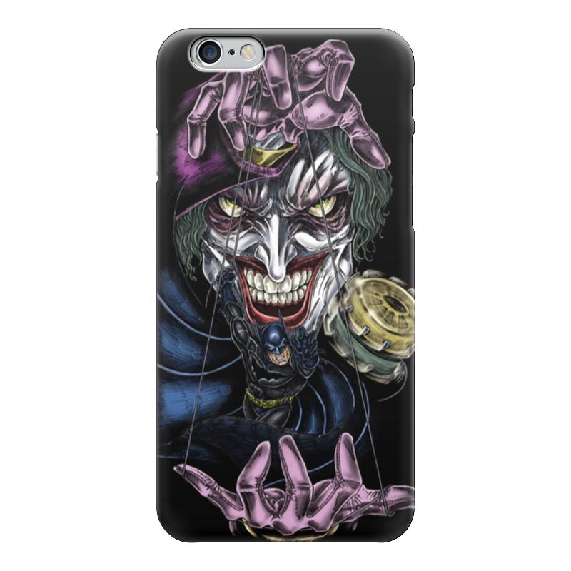 Чехол для iPhone 6 глянцевый Printio Joker & batman лонгслив printio batman x joker
