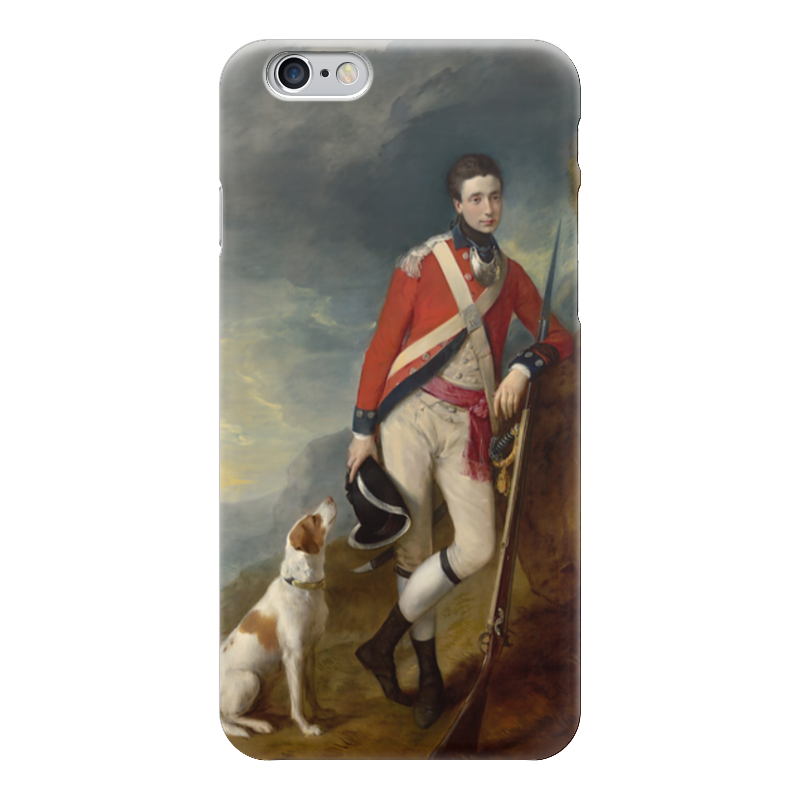 Чехол для iPhone 6 глянцевый Printio An officer of the 4th regiment of foot