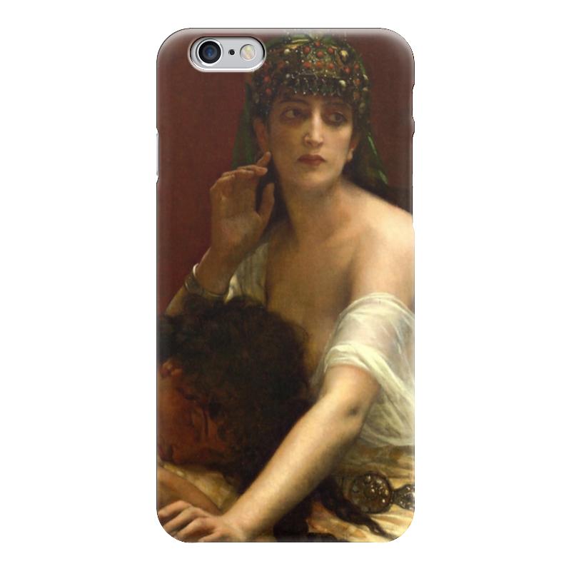 Чехол для iPhone 6 глянцевый Printio Самсон и далила (картина кабанеля)