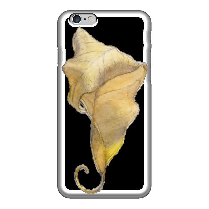 Чехол для iPhone 6 глянцевый Printio Лист фикуса бенджамина декопир лист в хабаровске