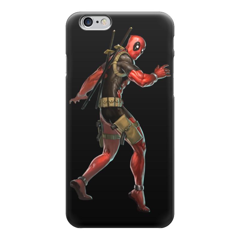 Чехол для iPhone 6 глянцевый Printio Deadpool/дэдпул чехол для iphone 6 глянцевый printio deadpool дэдпул