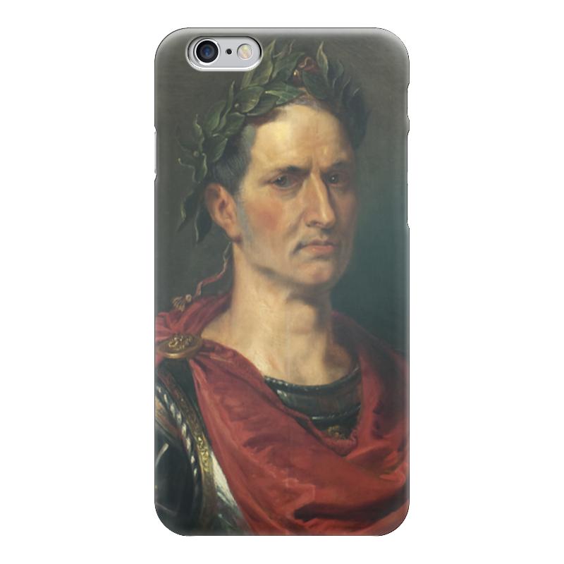 Чехол для iPhone 6 глянцевый Printio Гай юлий цезарь кленовый гай