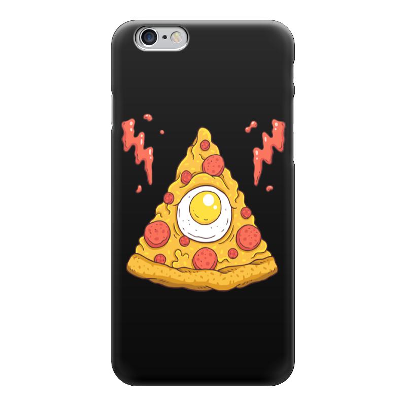 Чехол для iPhone 6 глянцевый Printio Кусочек пиццы (pizza) pizza group entry max 6