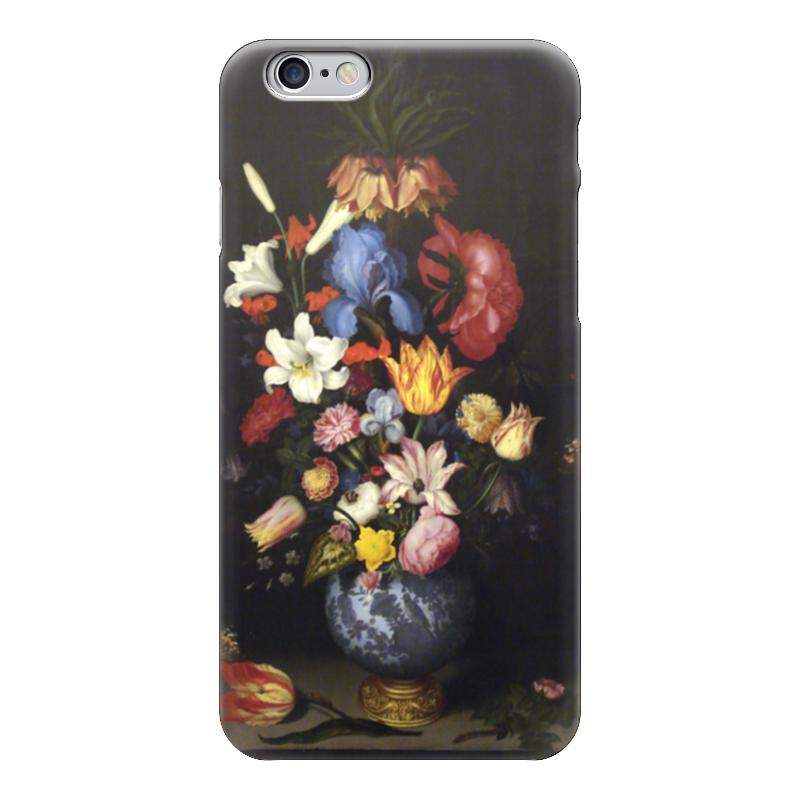 Чехол для iPhone 6 глянцевый Printio Натюрморт с цветами (амброзиус босхарт старший) амброзиус босхарт