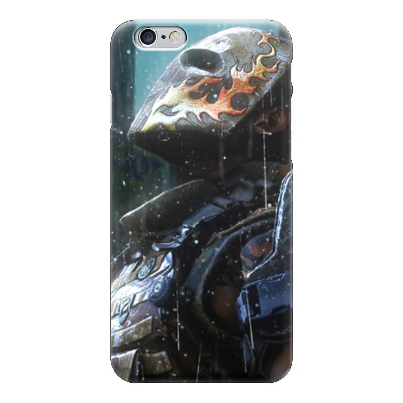 Чехол для iPhone 6 глянцевый Printio Эллиот салем (армия из двоих)