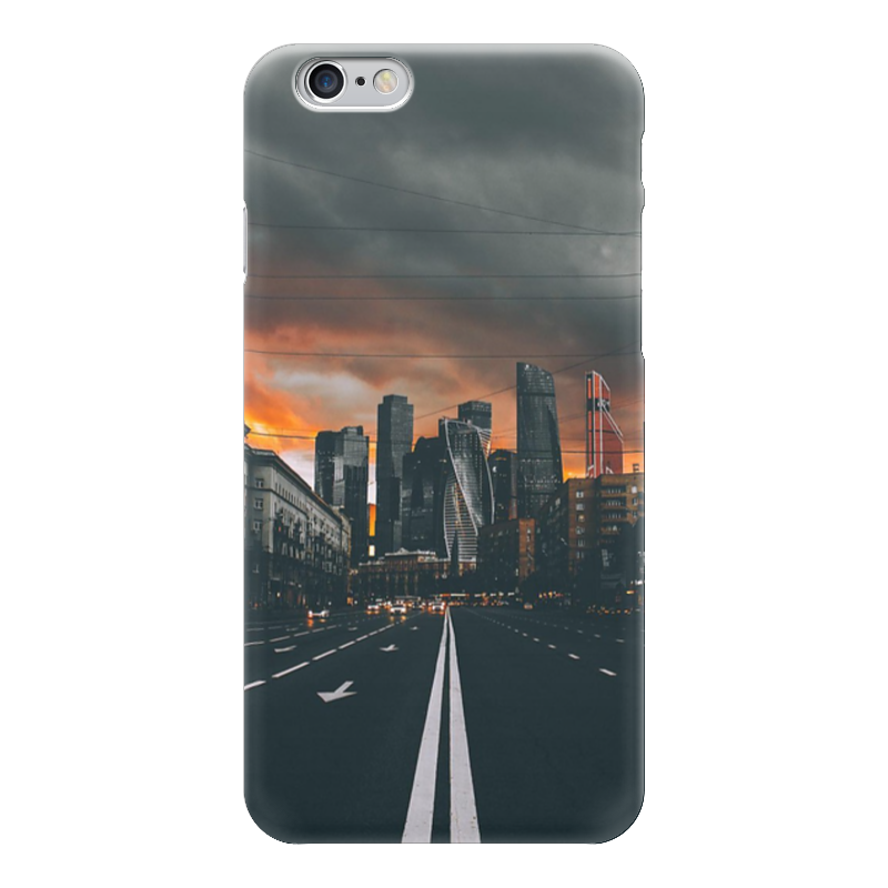 Чехол для iPhone 6 глянцевый Printio Москва лампочки для гетц москва где