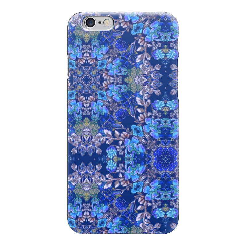 Чехол для iPhone 6 глянцевый Printio Красивый растительный цветочный орнамент, паттерн чехол для iphone 6 глянцевый printio цветочный