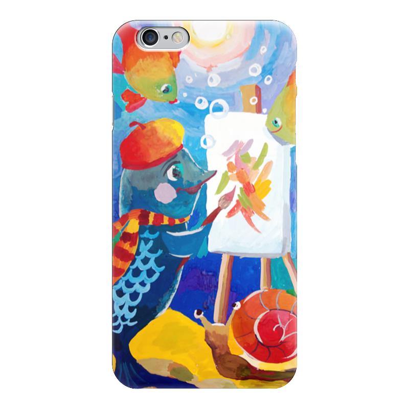 Чехол для iPhone 6 глянцевый Printio Подводный мир де ла бедуайер камилла подводный мир
