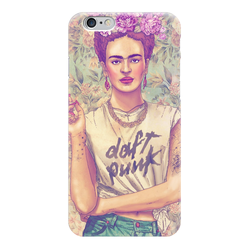 Чехол для iPhone 6 глянцевый Printio Frida kahlo rocking daft punk rocking chairs подставка для цветов bicycle planter 004 013