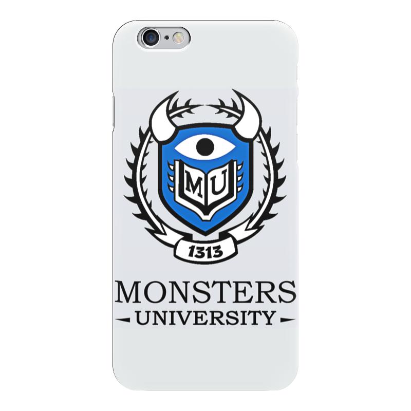 Чехол для iPhone 6 глянцевый Printio Monsters university стоимость