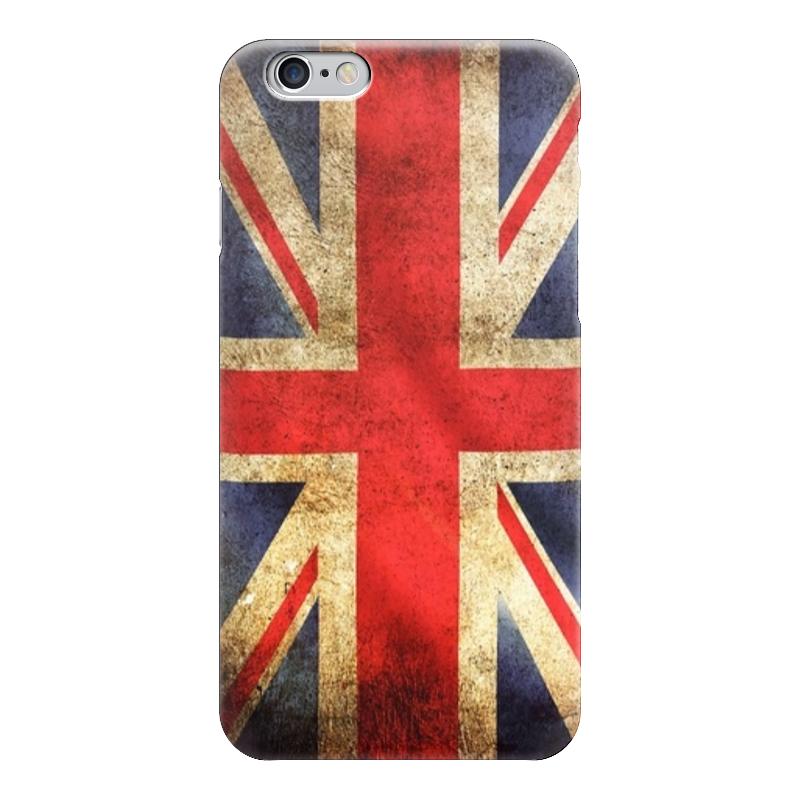 Чехол для iPhone 6 глянцевый Printio Английский флаг чехол для iphone 6 глянцевый printio флаг россии russia