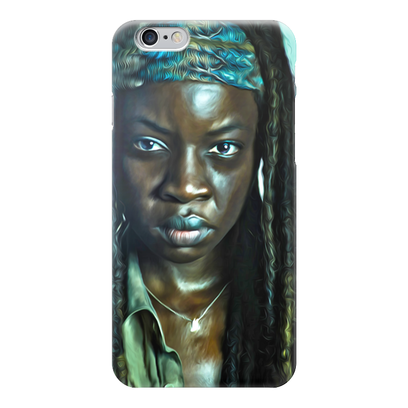 Чехол для iPhone 6 глянцевый Printio The walking dead | michonne майка классическая printio the walking dead michonne