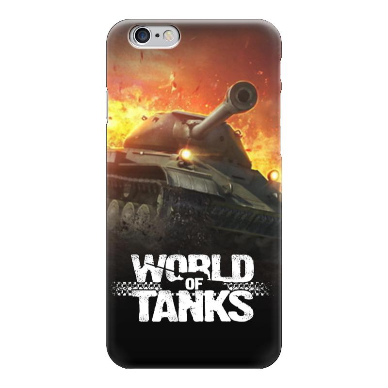 Чехол для iPhone 6 глянцевый Printio World of tanks чехол для iphone 6 глянцевый printio свобода слова freedom of speech