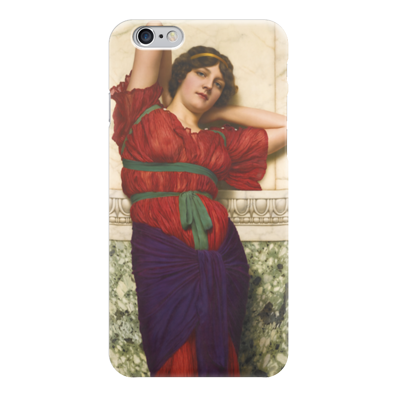Чехол для iPhone 6 глянцевый Printio Созерцание (джон уильям годвард) уильям пол янг ева