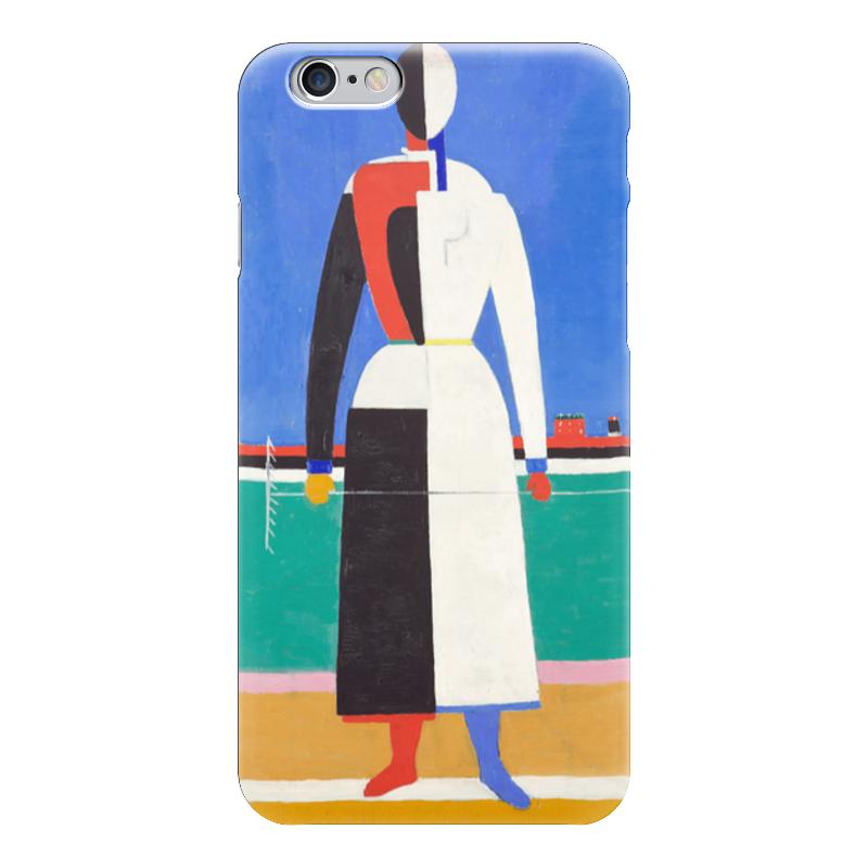 Чехол для iPhone 6 глянцевый Printio Женщина с граблями чехол для iphone 6 глянцевый printio молодая женщина в соломенной шляпе