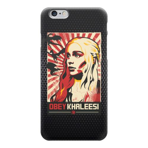 """Чехол для iPhone 6 """"Obey Khaleesi (Game of Thrones)"""" - игра престолов, game of thrones, дейенерис таргариен, кхалиси"""
