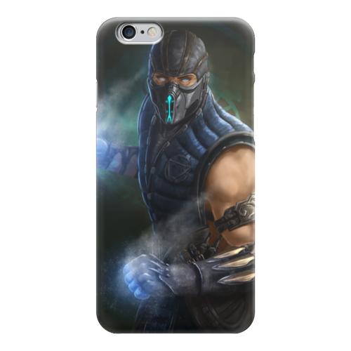 """Чехол для iPhone 6 """"Саб-зиро"""" - mortal kombat, смертельная битва, мортал комбат, sub-zero"""
