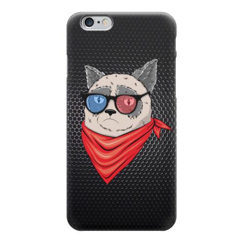 "Чехол для iPhone 6 ""Сердитый котик в 3D "" - tard, grumpy cat, тард, сердитый котик"
