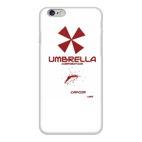 """Чехол для iPhone 6 """"Umbrella Corporation"""" - игры, umbrella corporation, про игры, чехол про игры"""